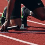The fastest human might be a quadrupedal runner at the 2048 Olympics