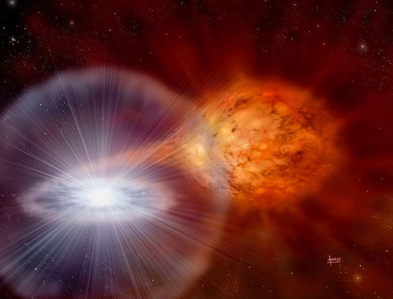 Scientists find the major producers of lithium in our galaxy
