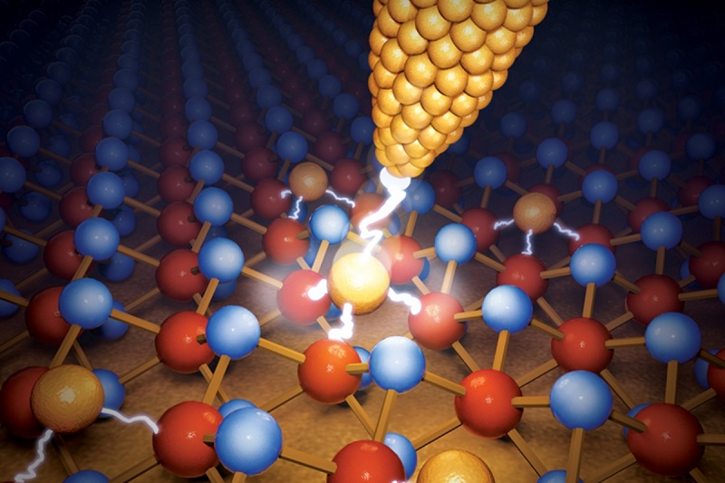 Scientists create world's smallest memory device