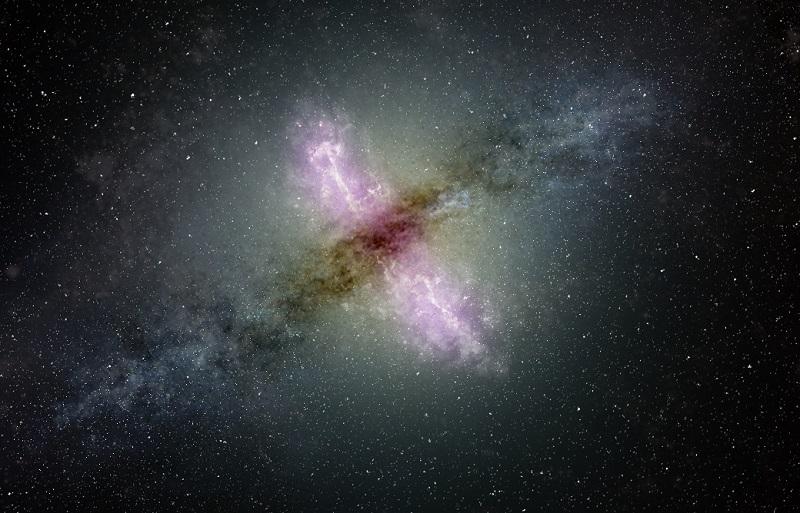 Scientists detect newborn jets in distant galaxies